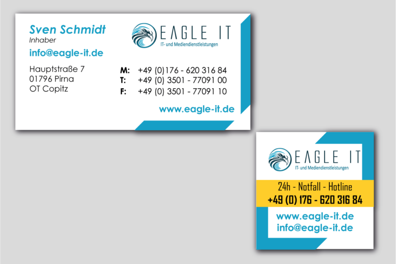 Eagle-IT-Aufkleber