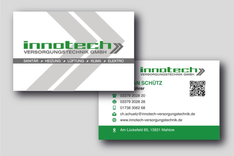 Innotech-Versorgungstechnik-Visitenkarte