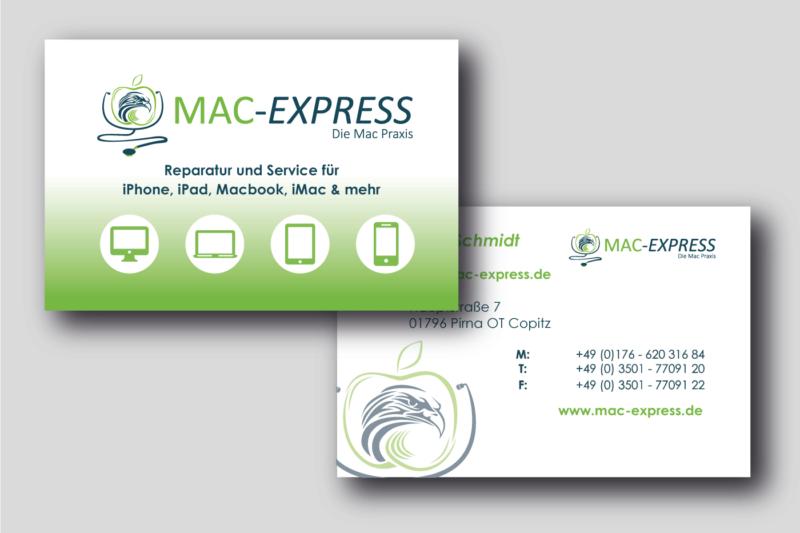 Mac-Express-Visitenkarte