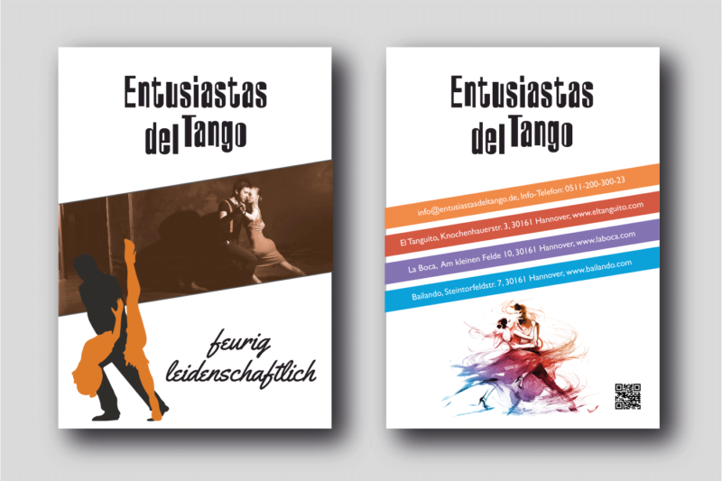 Tanzschule-Flyer